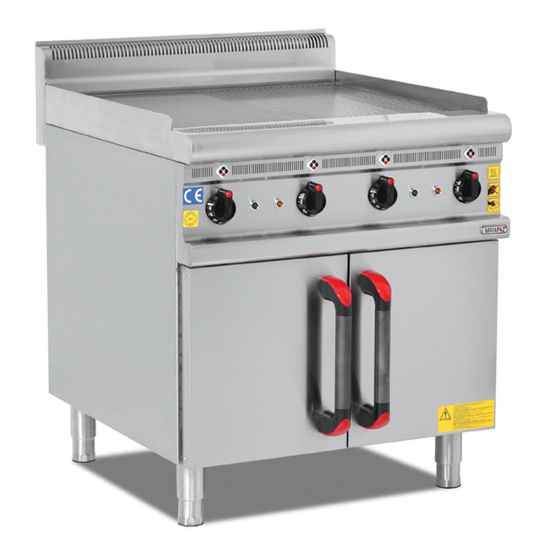 ELECTRIC-GAS GRILL