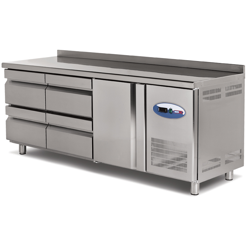 REFRIGERATED COUNTERS WITH DRAWER
