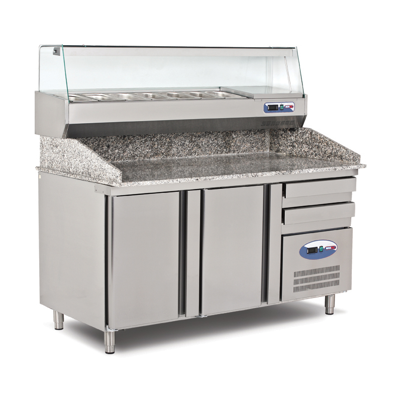 GRANITE TOP REFRIGERATED COUNTER