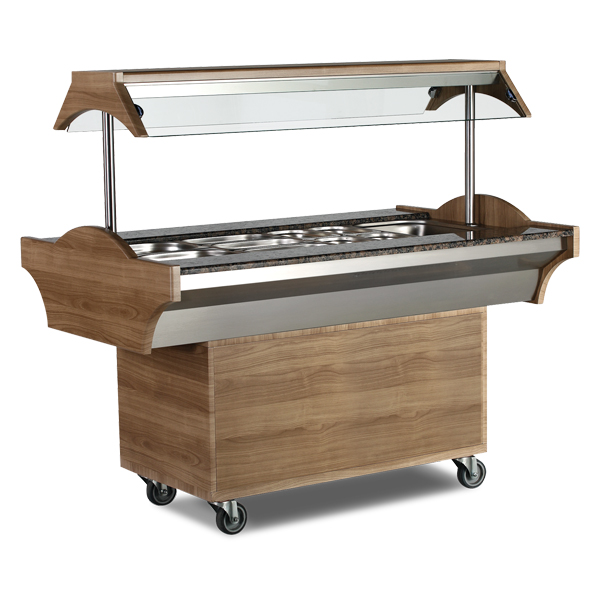 DECORATIVE BAIN-MARIE UNIT