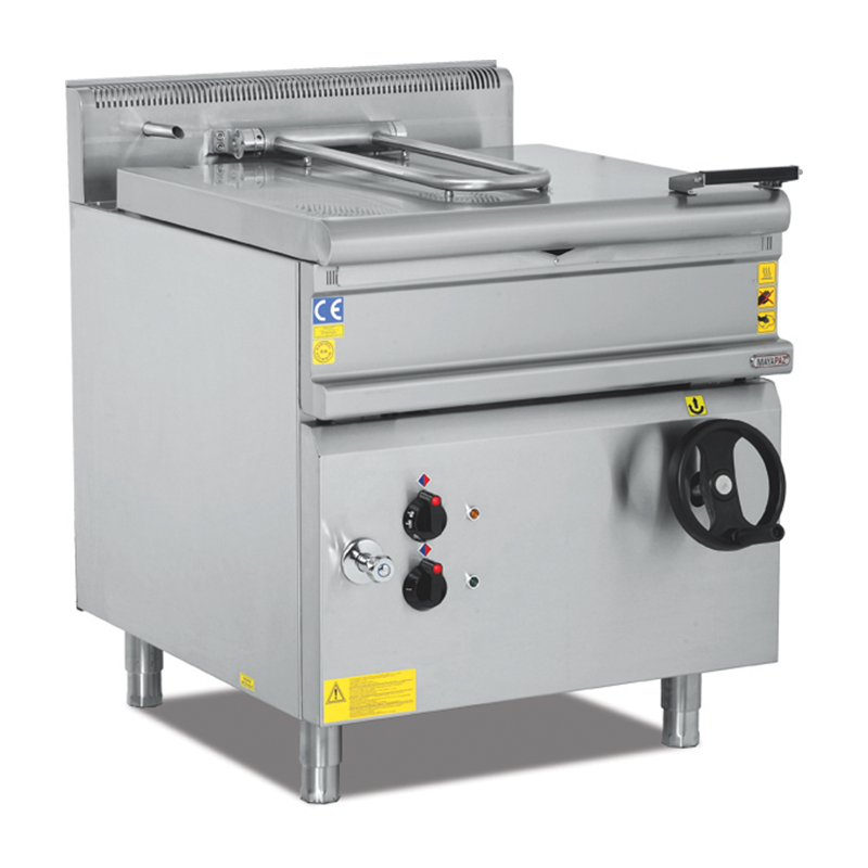 ELECTRIC-GAS TILTING BRATT PAN
