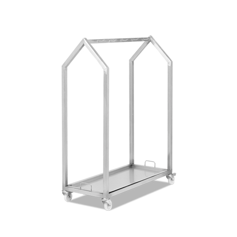 MEAT HANGING TROLLEY (WITH TRAY)